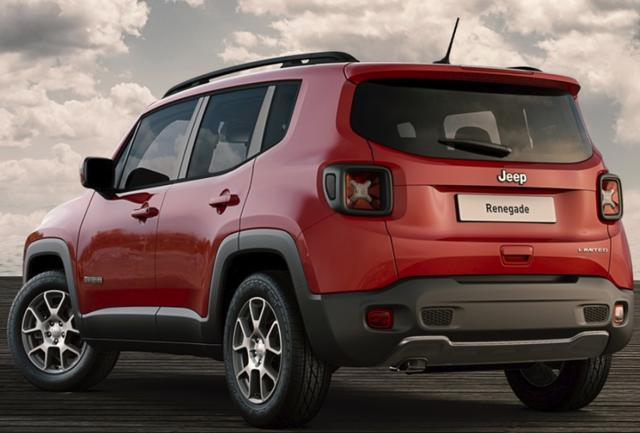 Jeep Renegade Limited 1.3 MultiAir T4 180AT AWD *KLIMA*BLUETOOTH*