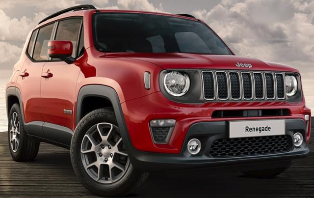Jeep Renegade 2019 - Limited 1.0 MultiAir T3 120 MT FWD *KLIMA*BLUETOOTH*
