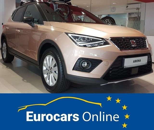 Seat Arona 2019 *LAGER* - Xcellence KURZFRISTIG LIEFERBAR NAVI PDC RESERVERAD KESSY VOLL-LED