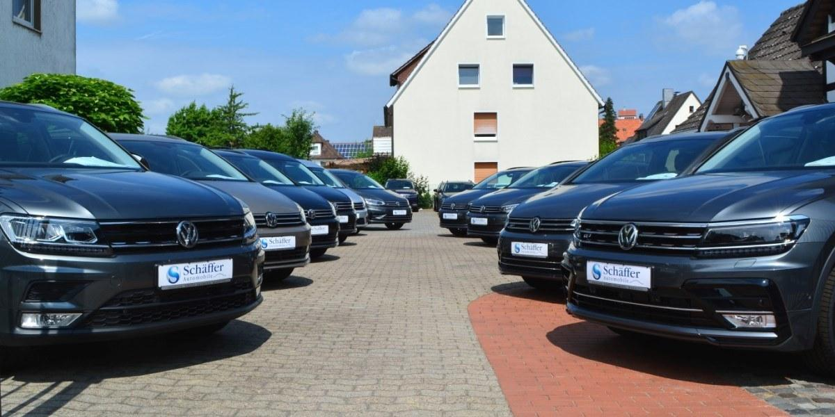 EU Reimporte VW in Bielefeld
