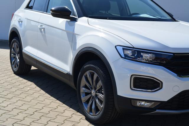 Volkswagen T-Roc 1.5TSI DSG SPORT LED SHZ NAVI ACC KAMERA PDC CLIMATRONIC Pure White