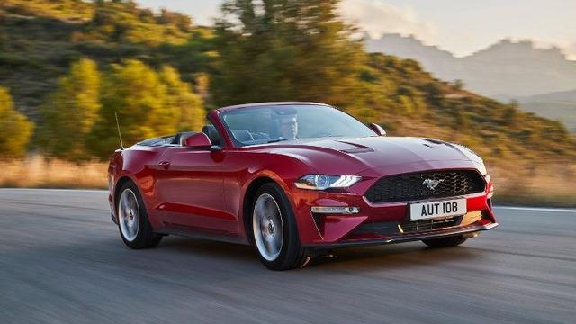 Ford Mustang - Ecoboost Cabriolet