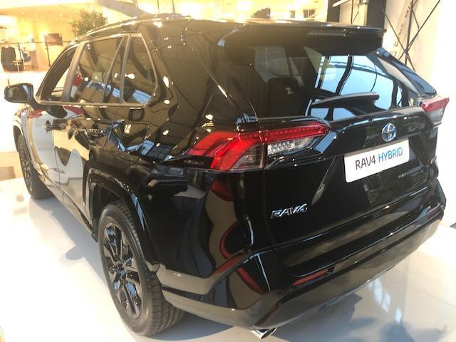Toyota (EU) RAV4 H3 Black Edition 2.5 Hybrid 218PS/160kW CVT 2021