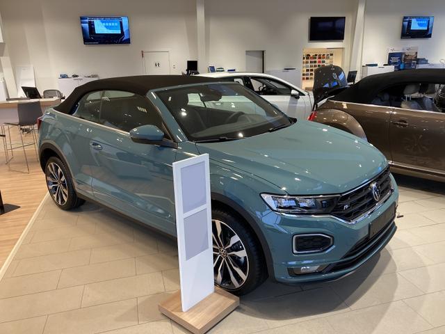 Volkswagen T-Roc - R-Line 1.5 TSI EVO ACT 150PS/110kW DSG7 2021 Vorlauffahrzeug kurzfristig verfügbar